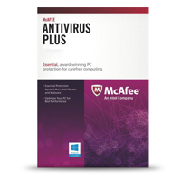 McAfee Anti Virus Plus 1 PC 1 Year