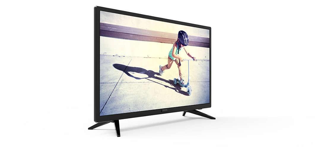 """24"""" Ecrans PC LED HD 24PHT4003 - Noir"""